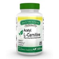 Health Thru Nutrition Acetyl L-Carnitine 500mg 60 caps