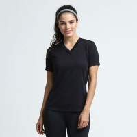 Lee Vierra Basic Burvy Tshirt Baju Olahraga Wanita Lengan Pendek