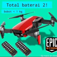 Drone dji mavic air clone X12 Baterai double 720p