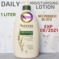 Aveeno Daily Moisturising Lotion 1000ml 1L Fragrance Free