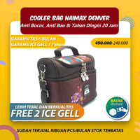 NAIMAX COOLER BAG BERKUALITAS/ TAS PENDINGIN/ THERMAL BAG