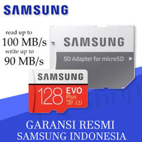 Samsung MicroSDXC 100MB/s EVO PLUS UHS-I Card 128GB