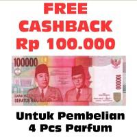FREE CASHBACK 100RB LAPAK PARFUM