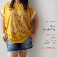 Atasan Jumbo Wanita - Bear Jumbo Top