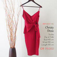 Terusan Wanita - Christy Dress