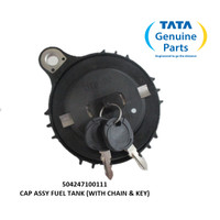 TATA MOTORS PRIMA 2528.K CAP ASSY FUEL TANK (WITH CHAIN & KEY) 5042471
