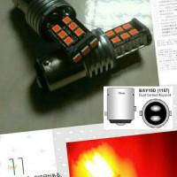 SALE Lampu Rem Bayonet 2 kaki LED Emperor Extrime Bright Mobil BAY15D