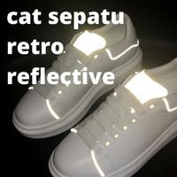 Cat Reflective Kulit & Karet Sol Sepatu - pantul balik sinar | Velle