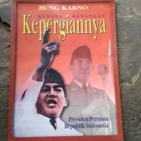 buku langka bung Karno kenang kenangan kepergian nya