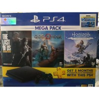 PS4 Sony Original Slim 1TB Bundle Mega Pack