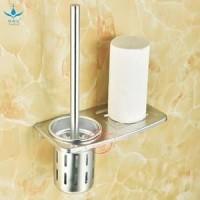 AY Rak Sikat Toilet Alumunium Bonus Sikat