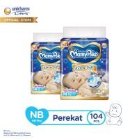 MamyPoko Perekat Extra Soft - NB 52 - Popok Tape - 2 Packs