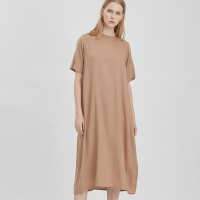 Dress Routine Beige - shop at velvet