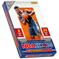 2019/20 Panini Hoops Basketball Hobby Box (Kartu Basket NBA Segel)