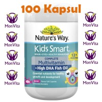 Nature's way kids smart complete multivitamin + fish oil 100 capsules