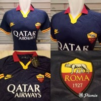 JERSEY BOLA AS ROMA 3RD OFFICIAL 2019-2020 GRADE ORI IMPORT