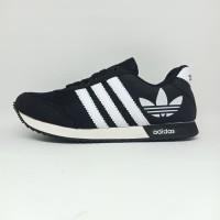 Sepatu Adidas Neo Kembang Casual Import Biru Pria Wanita Dewasa