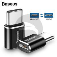 BASEUS MINI CONVERTER MICRO USB FEMALE TO USB TYPE C KABEL FAST CHARGI