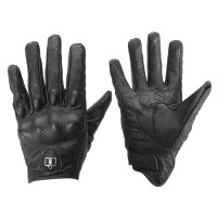 Silmi Outdoor Leather Gloves Protective Armor For Motorcycle