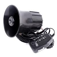 Silmi Motorcycle Car 6 Sound Loudspeaker Horn Speaker Alarm With