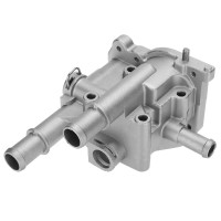 Silmi Aluminum Engine Coolant Thermostat With Housing For