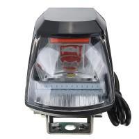Silmi 12/80V 30W LED 1300LM Motorcycle Headlight Lamp High Beam