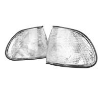 Silmi Side Parking Corner Light Cover Clear Lampshade Set for BMW