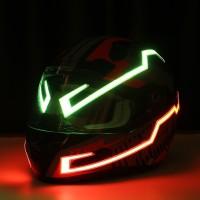 Silmi Rechargable Version Motorcycle Helmet EL Light Strip Night