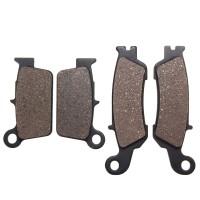 Auto St Front+Rear Organic Brake Pads Untuk Yamaha YZ250F Set Full