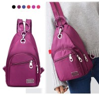 Silmi Women Nylon Light Multifunction Chest Bags Outdoor