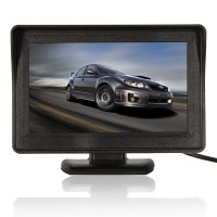 Silmi 4.3 Inch Car Back Up Camera Car Rear View Monitor LCD Car