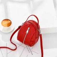 Silmi Women Faux Leather Leisure New Fashion Tiny Square Bag