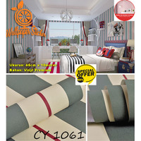 Wallpaper Dinding Motif 45cm x 10m - Wallpaper Dinding CY1061