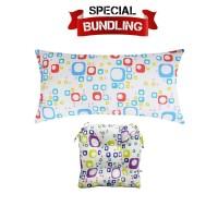 Paket Bundling | Reveire Body Pillow Square & Chairpad Square