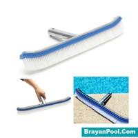 Sikat Kolam Renang Pool Brush (Metal) Aquant