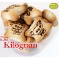 CEMILAN Biskuit PANDA IMUT Isi COKLAT ( KILOAN / CURAH )