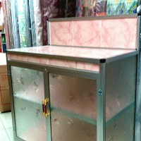 Jual meja kompor 2 tungku/dispenser/mgc.com ambalan ...