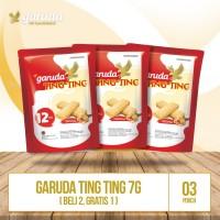 Garuda Ting Ting Pouch - Isi 12 pcs @ 7g (Beli 2 Gratis 1)