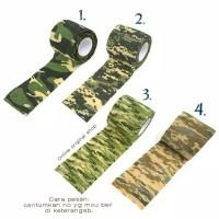 Camo tape / lakban camo kain 2.5 meter