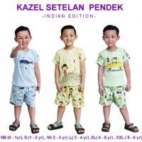 Kazel Setelan Pendek Indian Edition / Setelan Pendek Kazel