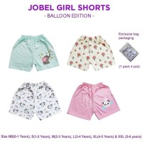 Kazel Jobel Short Balloon Girl Edition 1 Pack Isi 4 Pcs / Celana Pende