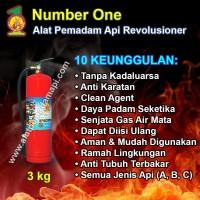 Number One APAR 1 KG Alat Pemadam Api/Kebakaran Ringan Tabung 1KG
