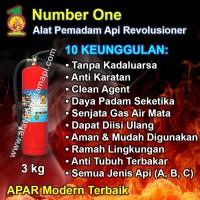 Number One APAR 1 KG Alat Pemadam Api/Kebakaran Ringan Portable 1KG