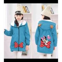 Jaket Anak Minnie Turkis [Baju Anak 0119] SKG