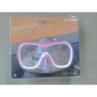 intex 55978 - Kaca Mata Selam Wave Rider Mask Swim for Age 8+