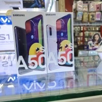 samsung a50s 4/64gb garansi resmi 1th