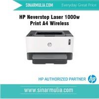 HP Neverstop Laser 1000w Print A4 Wireless