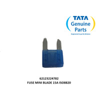 TATA MOTORS SUPER ACE FUSE MINI BLADE 15A ISO8820 62123224782