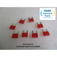 TATA MOTORS SUPER ACE FUSE MINI BLADE 10A ISO8820 62123224774