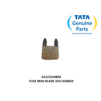 TATA MOTORS SUPER ACE FUSE MINI BLADE 25A ISO8820 62123224804